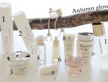 nejkrásnější kosmetické produkty podzimu