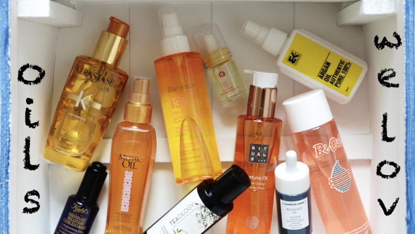 kosmetické oleje