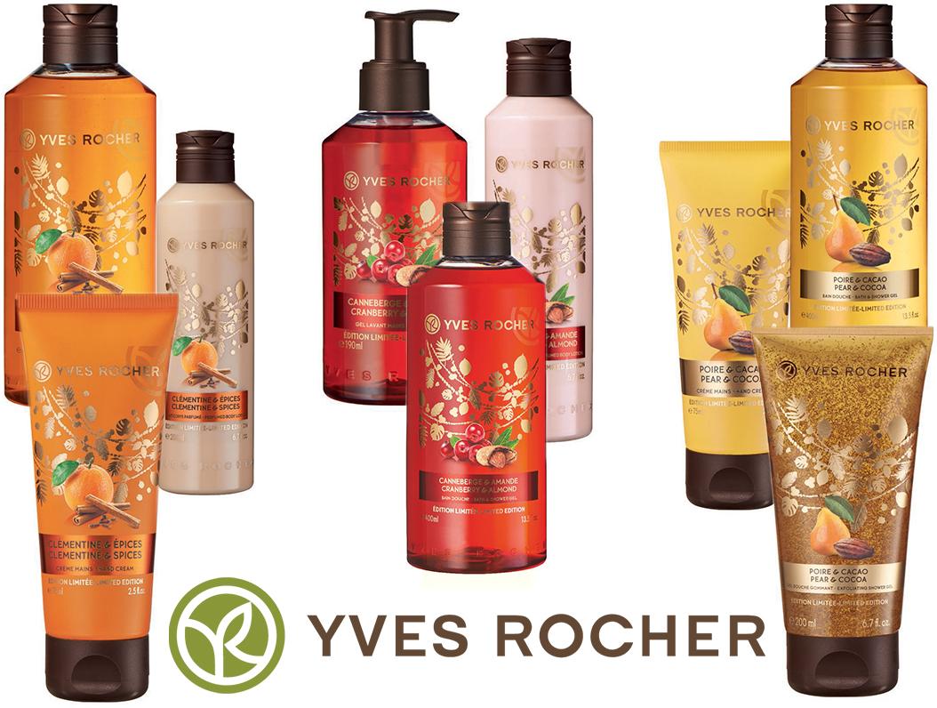 Vánočni balíčky Yves Rocher
